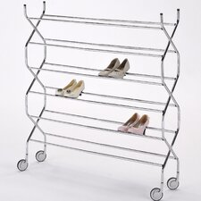 <strong>ORE Furniture</strong> Criss Cross 6 Tier Shoe Rack
