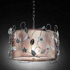 Crystal 4 Light Ceiling Lamp