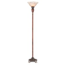 "Roman Bronze 71"" Decorative Torchiere Floor Lamp"