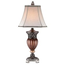 "Roman Bronze 32"" Decorative Table Lamp"