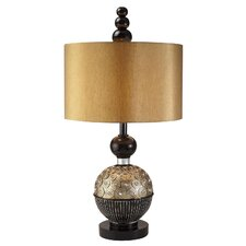 "31"" Amber Twilight Table Lamp"