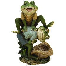 PS Leaping Frog Figurine