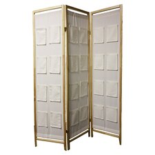 "70.25"" x 30"" 3 Panel Room Divider"