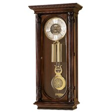 <strong>Howard Miller®</strong> Chiming Key-Wound Stevenson Wall Clock