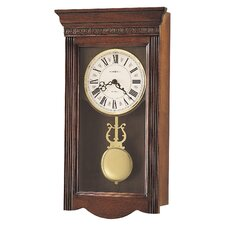 <strong>Howard Miller®</strong> Chiming Quartz Eastmont Wall Clock