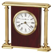 <strong>Howard Miller®</strong> Rosewood Bracket Table Clock