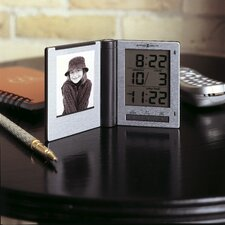 <strong>Howard Miller®</strong> Portrait Traveler Alarm Clock