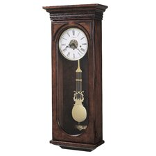 <strong>Howard Miller®</strong> Chiming Key-Wound Earnest Wall Clock