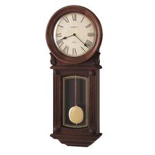 <strong>Howard Miller®</strong> Chiming Quartz Isabel Wall Clock