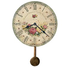 "Moment In Time Botanical Society VI 13"" Wall Clock"