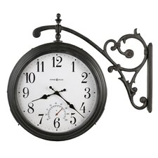 "Indoor / Outdoor 15.25""  Luis Quartz Wall Clock"