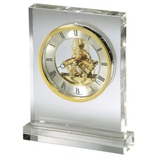 <strong>Howard Miller®</strong> Prestige Crystal Tabletop Clock