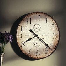 Original Howard Miller V Wall Clock