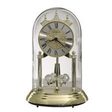 Christina Gold Anniversary Clock