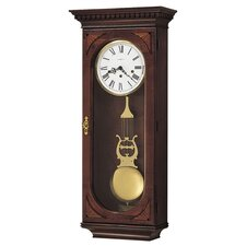 <strong>Howard Miller®</strong> Chiming Key-Wound Lewis Wall Clock