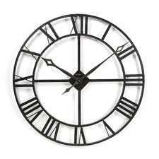 "Gallery Lacy Quartz Oversized 32"" Wall Clock"