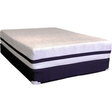 "Tribrid 19"" Deluxe Foam Mattress and Foundation Set"