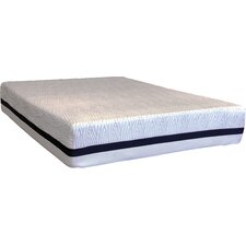 "Tribrid 19"" Latex Foam Mattress and Foundation Set"