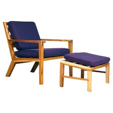 Waverly Lounge Chair and Ottoman