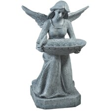 Garden Angel Decorative Bird Feeder / Bird Bath