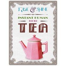 Rise and Shine Tea Wall Art