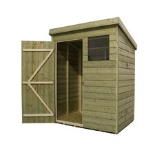 Pent Shed with Window
