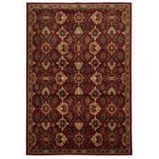 Lenoir Red / Green Oriental Rug