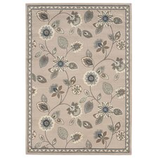 Concord Stone / Blue Floral Rug