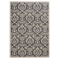Concord Charcoal / Ivory Floral Rug