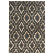 Concord Charcoal / Grey Geometric Rug