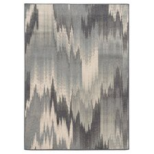 Concord Multi / Blue Abstract Rug