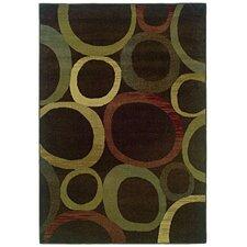 Sullivan Brown / Beige Geometric Rug