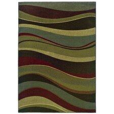 Sullivan Beige / Green Abstract Rug