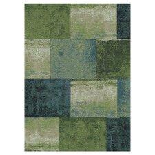Concord Green / Blue Geometric Rug