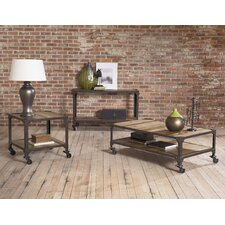 Industrial Age Coffee Table Set