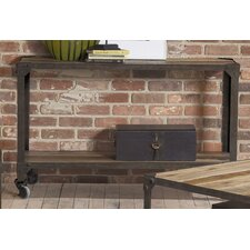 Industrial Age Console Table