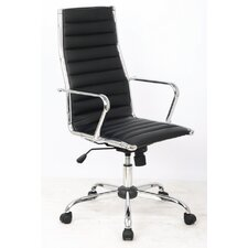 Excaliber High-Back Executive Office Chair with Arms