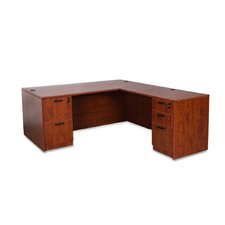 Gulfport Corner Desk with File Drawer