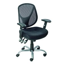Aria Mid-Back Mesh Task Chair with Arms