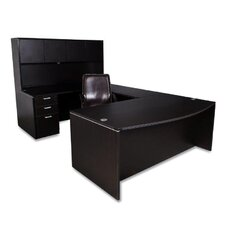 Nassau Executive Desk with Hutch