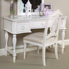 Reflections Three Drawer Vanity in Distressed Antique White