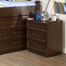 Solutions 3 Drawer Nightstand