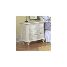Reflections 3 Drawer Nightstand