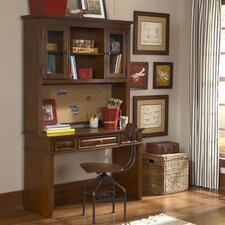 Dawson's Ridge Writing Desk with Hutch