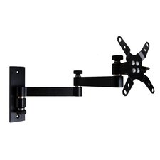 "Dual Articulating Arm/Tilt Wall Mount for 13"" - 30"" LCD"