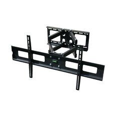 "Dual Tilt/Swivel/Articulating Arm Wall Mount for 37"" - 63"" LCD/LED/Plasma"