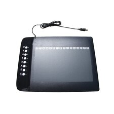 "Turcom 10"" x 6.25"" Graphic Drawing Tablet with 8 Hot Keys"