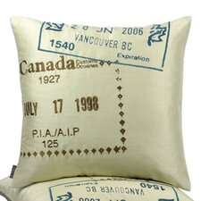Canada Passport Pillow