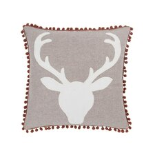 Oh Deer Wool / Linen Pillow