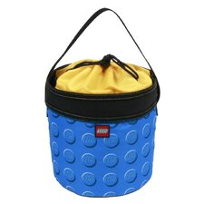 Small Lego Pattern Cinch Bucket